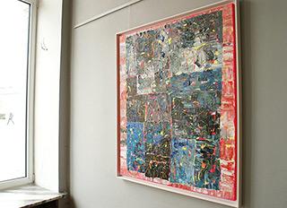Krzysztof Pająk : Ocean breeze : Oil on Canvas