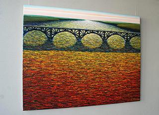 Adam Patrzyk : Bridge : Oil on Canvas