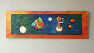 Darek Pala : Still life : Oil on Canvas