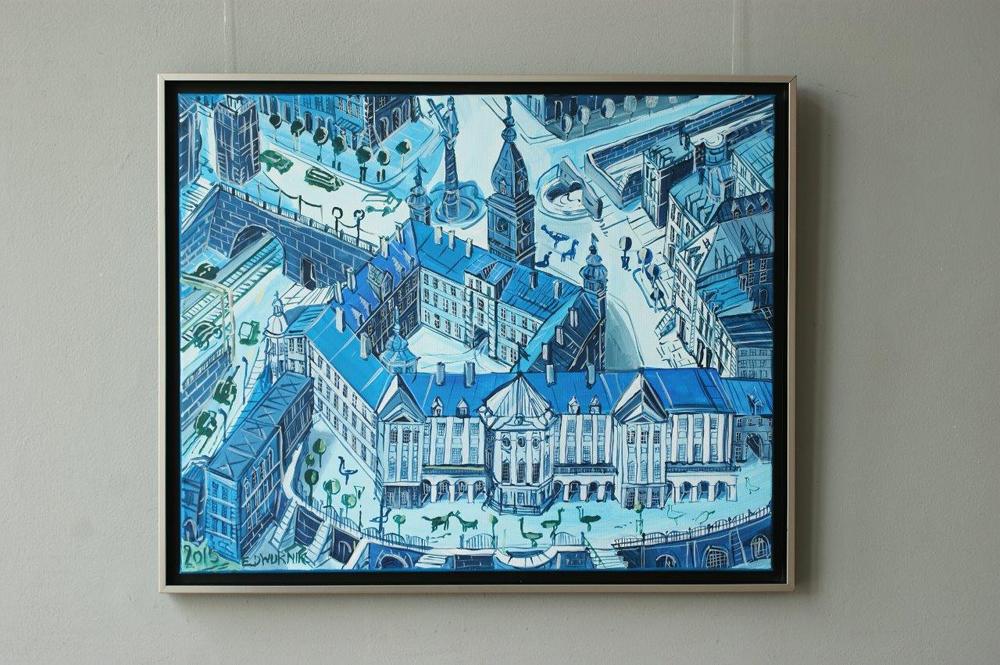 Edward Dwurnik : Blue Royale