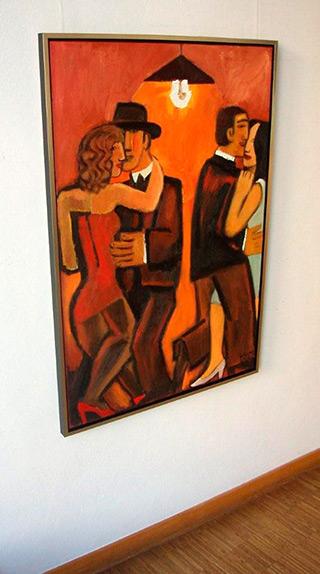 Krzysztof Kokoryn : Tango : Oil on Canvas