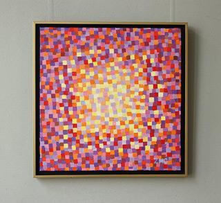 Zofia Matuszczyk-Cygańska : Fire : Oil on Canvas