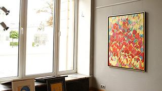Beata Murawska : Flowers : Oil on Canvas