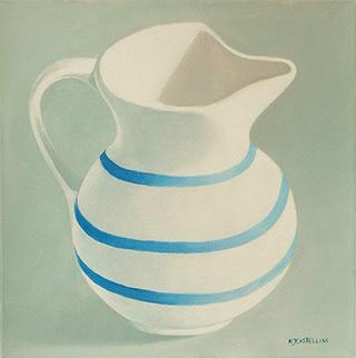 Katarzyna Castellini : Jug : Oil on Canvas