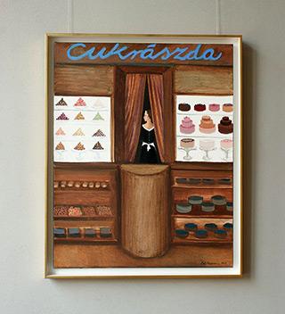 Katarzyna Karpowicz : Confectionery : Oil on Canvas