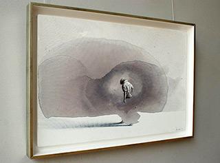 Łukasz Huculak : Figure : Tempera on canvas