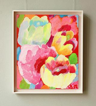 Beata Murawska : Summer fun : Oil on Canvas