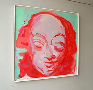 Katarzyna Swinarska : Mary Magdalene - from the cycle Saints of Love : Oil on Canvas