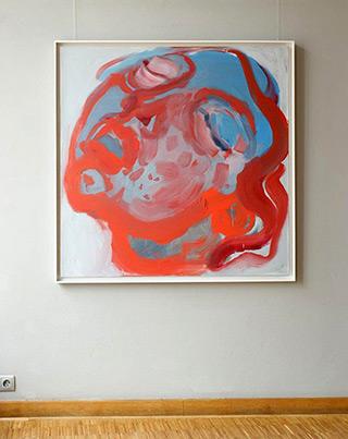 Katarzyna Swinarska : Saint Teresa - from the cycle Saints of Love : Oil on Canvas