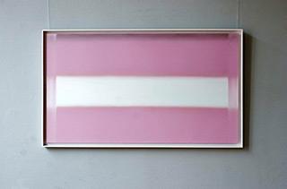 Anna Podlewska : Horizontal shining : Oil on Canvas