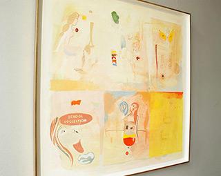 Jacek Cyganek : School collection : Tempera on canvas