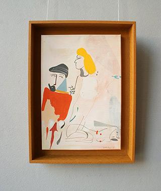 Jacek Cyganek : Since you won't change : Tempera on canvas