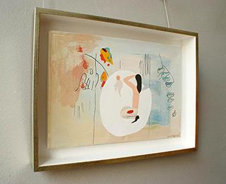 Jacek Cyganek : So I wish to stay here now : Tempera on canvas