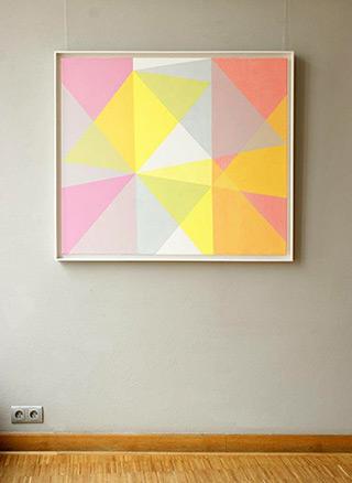 Joanna Stańko : Gentle passage : Oil on Canvas