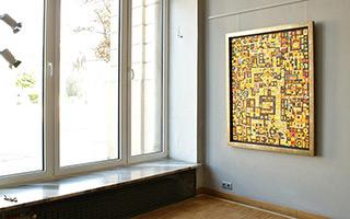 Krzysztof Pająk : Desert treasure : Oil on Canvas