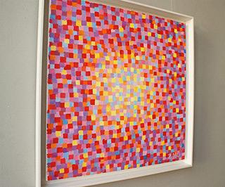 Zofia Matuszczyk-Cygańska : Pastel mosaic : Oil on Canvas