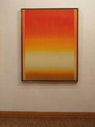 Anna Podlewska : Orange : Oil on Canvas