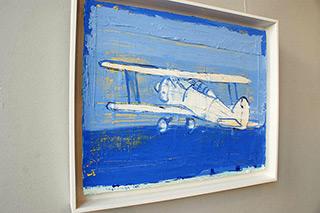 Jacek Łydżba : Gloster Gladiator I : Oil on Canvas