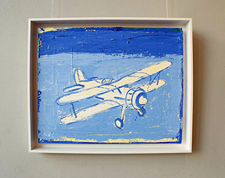Jacek Łydżba : Gloster Gladiator II : Oil on Canvas