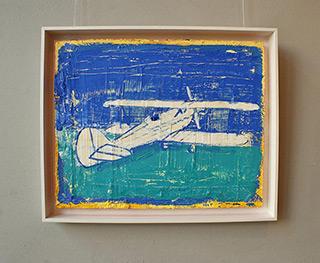 Jacek Łydżba : Hawker Fury : Oil on Canvas