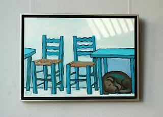 Krzysztof Kokoryn : Greek siesta : Oil on Canvas
