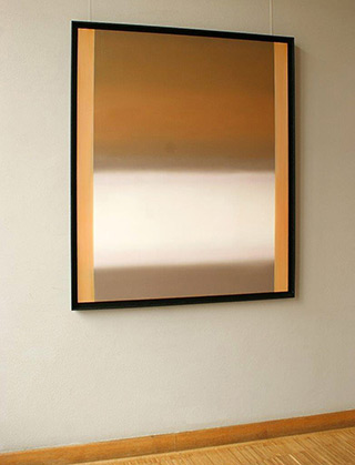 Anna Podlewska : Trail of light : Oil on Canvas
