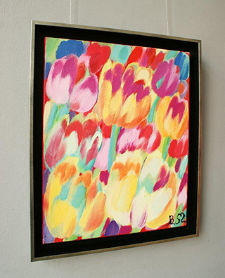 Beata Murawska : Hot morning : Oil on Canvas