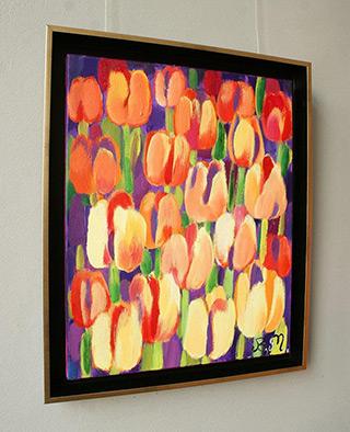 Beata Murawska : Orange morning : Oil on Canvas