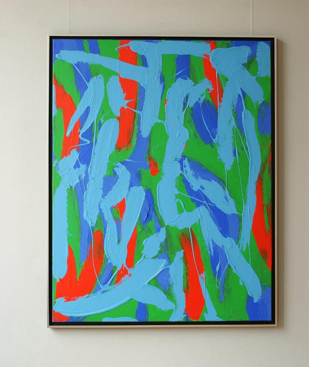 Edward Dwurnik : Abstract painting no 344