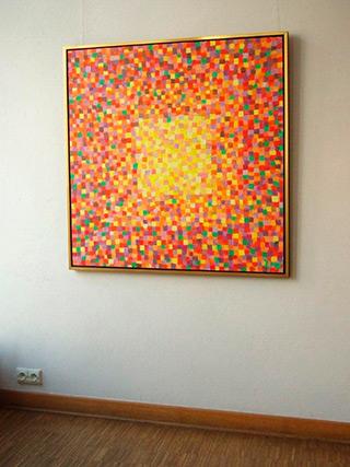 Zofia Matuszczyk-Cygańska : Orange : Oil on Canvas