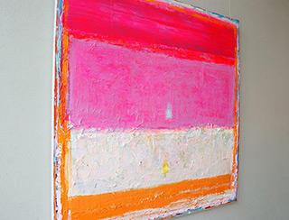 Sebastian Skoczylas : Pink euphoria : Oil on Canvas