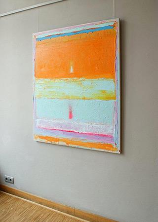 Sebastian Skoczylas : Temporary balance : Oil on Canvas