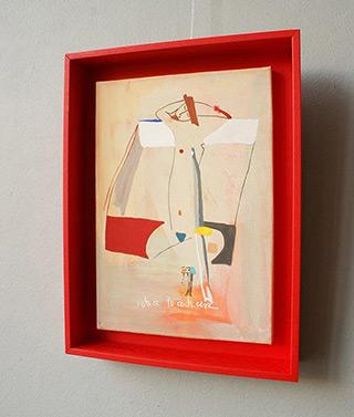 Jacek Cyganek : You do what you want : Tempera on canvas