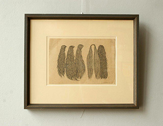 Magdalena Sawicka : Hair : Ink on paper