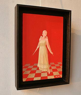Mikołaj Kasprzyk : Angelic dance : Oil on Canvas