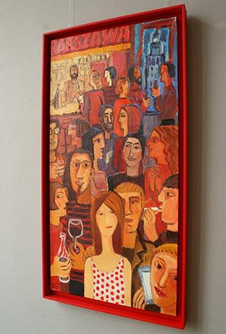 Krzysztof Kokoryn : Bar-Szawa : Oil on Canvas
