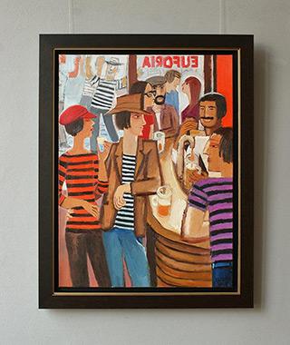 Krzysztof Kokoryn : Euphoria : Oil on Canvas
