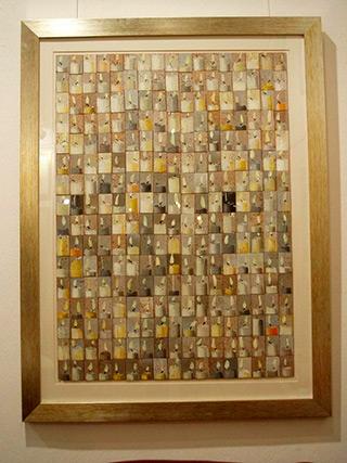 Dariusz Mlącki : Candles : Acrylic on cork