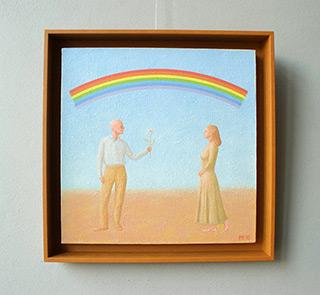 Mikołaj Kasprzyk : Rainbow : Oil on Canvas