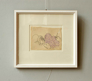 Magdalena Sawicka : Untitled Number 29 : Drawing on paper