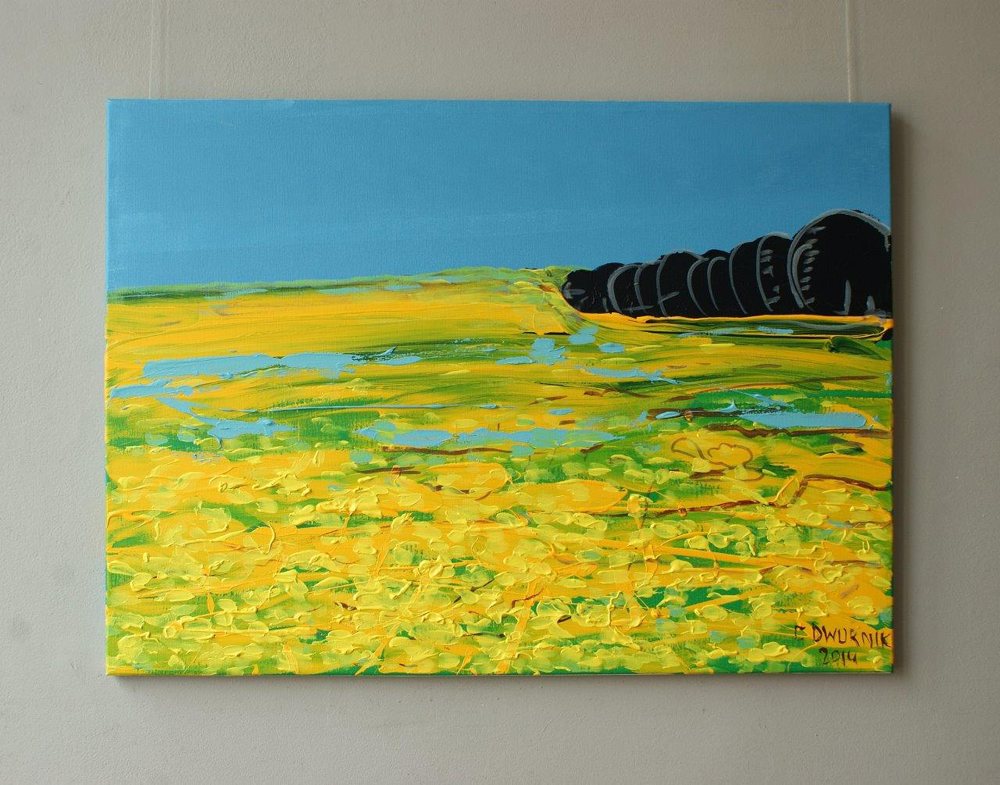 Edward Dwurnik : Landscape