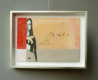 Jacek Cyganek : So I wake up : Tempera on canvas