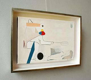 Jacek Cyganek : Sweet study : Tempera on canvas