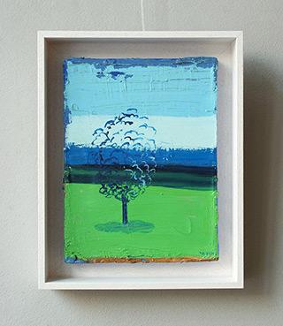 Jacek Łydżba : Tree : Oil on Canvas
