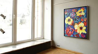 Beata Murawska : Night splendor of colors : Oil on Canvas
