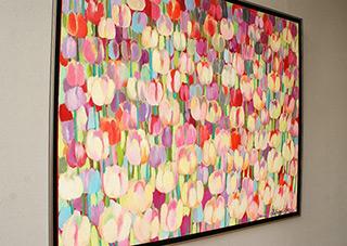 Beata Murawska : Tulip sorbet : Oil on Canvas