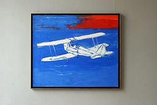 Jacek Łydżba : Moth : Oil on Canvas