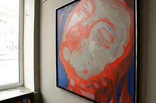 Katarzyna Swinarska : Saint Teresa No 2 : Oil on Canvas