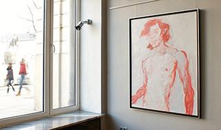 Katarzyna Swinarska : The red haired : Oil on Canvas