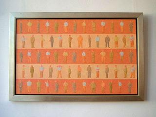 Mikołaj Kasprzyk : Five monologs : Oil on Canvas